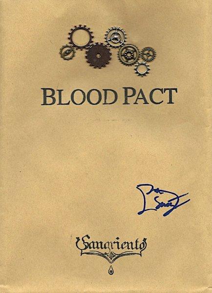 """画像1: SANGRIENTO """"Blood Pact"""" CD-Rと漫画本のセット (1)"""
